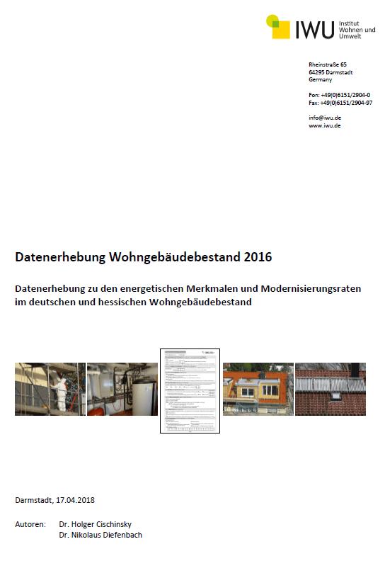 PDF: Datenerhebung Wohngebäudebestand 2016