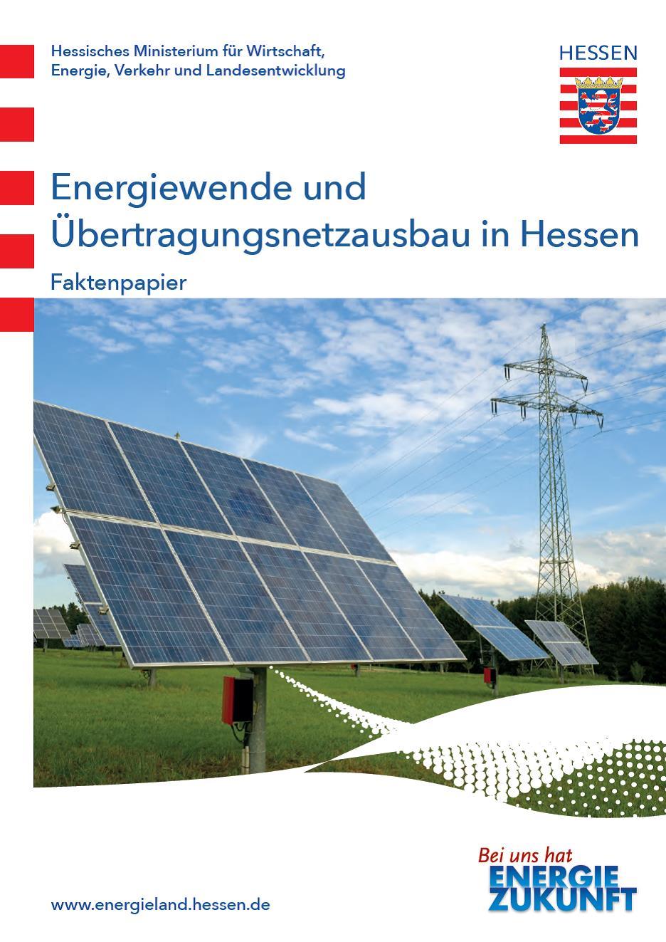 PDF: Faktenpapier Energiewende und Übertragungsnetzausbau in Hessen