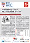 PDF: Besonders sparsame Haushaltsgeräte 2016/17