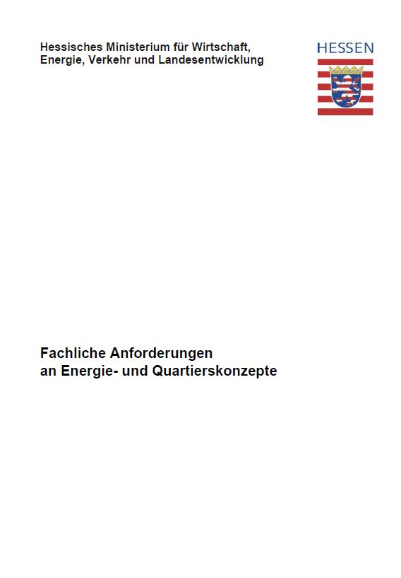 PDF: Fachliche Anforderungen an Energie- und Quartierskonzepte