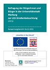 PDF: Befragung der Bürgerinnen und Bürger in der Universitätsstadt Marburg zur LED-Straßenbeleuchtung