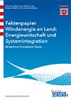 PDF: Faktenpapier  Windenergie - Energiewirtschaft &  Systemintegration